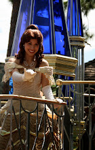 Photo: Probably my favorite shot of Belle from the Celebrate a  Dream Come True Parade in the Magic Kingdom.