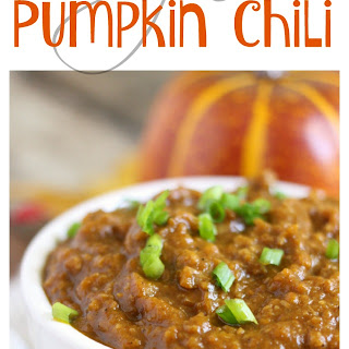 Vegan Pumpkin Chili and a Fall Inspired Party Plan!.