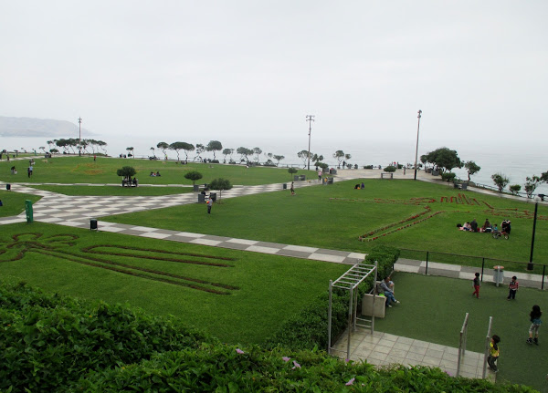 Lima City Park on the Ocean