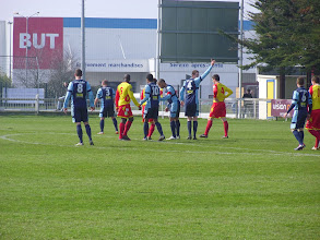 Photo: 30/03/13 v Amicale Sportive de Vitré (Championnat France Amateur 2 - Groupe H) 5-1 - contributed by Pete Collins