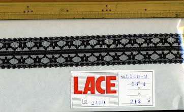 Photo: №5140-2-907ラッセル黒:巾40mm