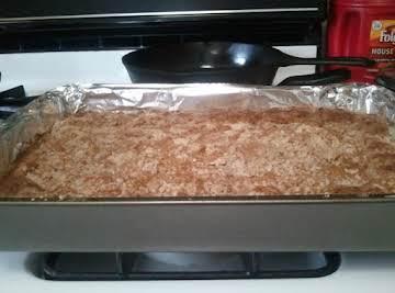 Sugar Free Pumpkin Dump Cake