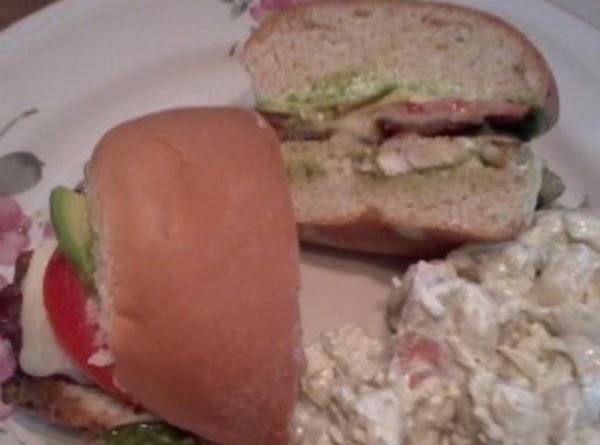 Grilled Pesto Chicken Club Sandwich Recipe