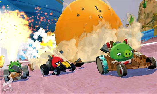 Angry Birds Go لعبة جديدة من Rovio لمستخدمي الهواتف الذكية