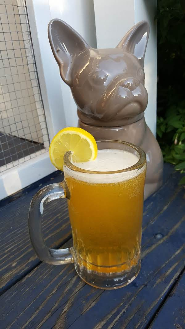 Radler (and A Bulldog Cookie Jar That Guards Our Porch Because We Never Got Around To Taking To Goodwill)