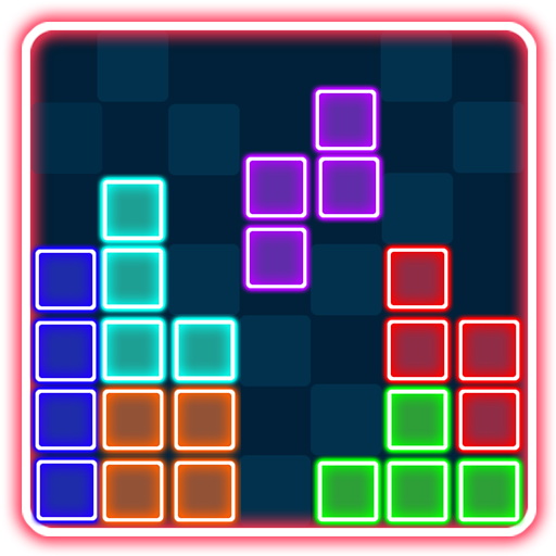 Glow Color Block Puzzle