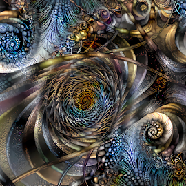 Spiral 65 by Cassy 67 - Illustration Abstract & Patterns ( digital, love, harmony, surreal, abstract art, trippy, spiral, abstract, fractals, digital art, psychedelic, modern, light, fractal, style, energy, fashion )
