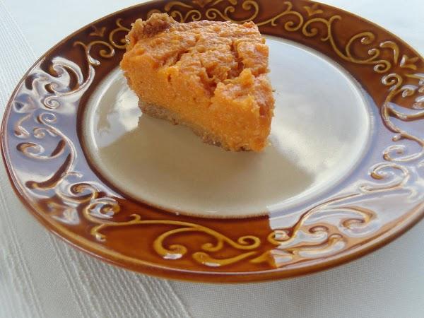 Mellina's Eggnog Sweet Potato Pie Recipe