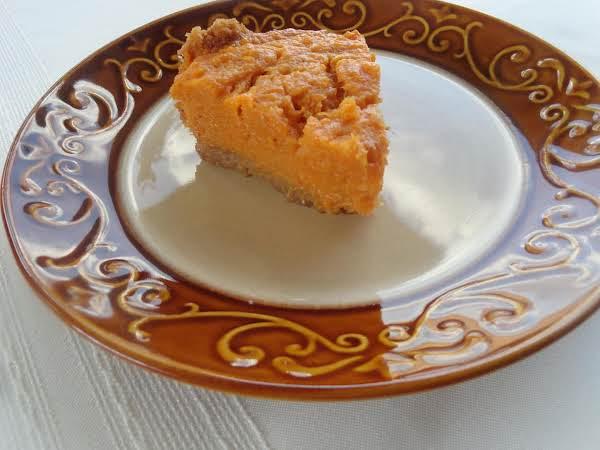 Mellina's Eggnog Sweet Potato Pie