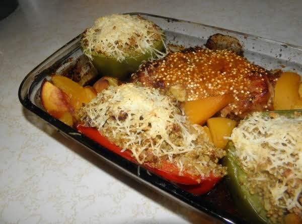 Quinoa Stuffed Bell Peppers Recipe