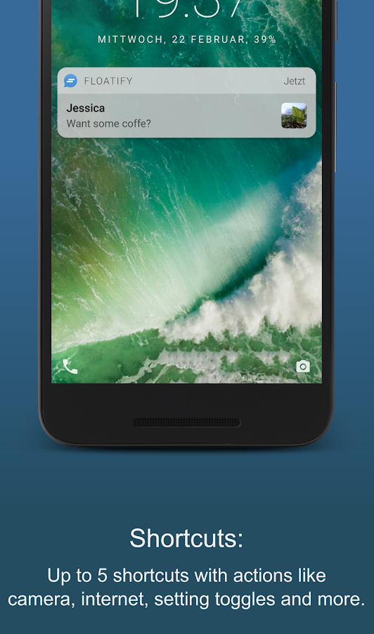 Floatify Lockscreen- screenshot