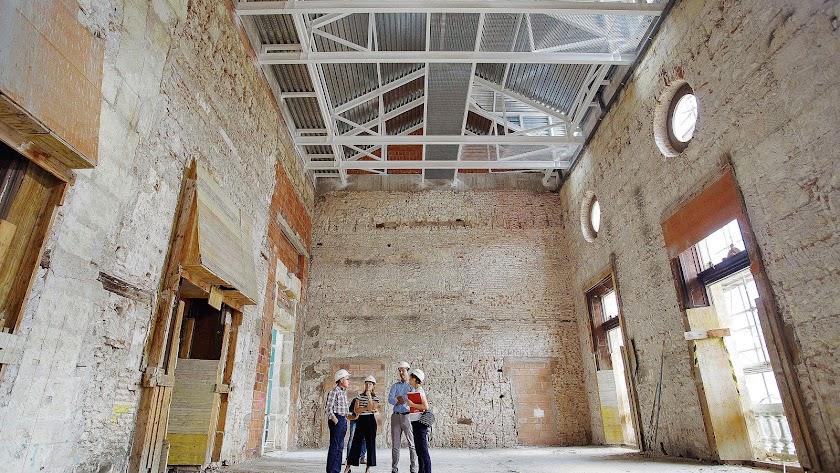 Interior de la Casa Consistorial