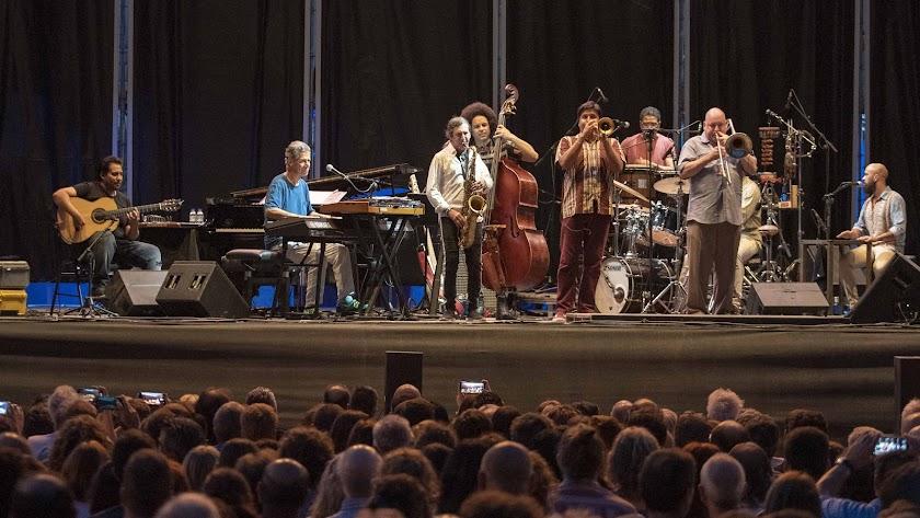 Chick Corea ofreció un concierto impresionante, acompañado por Niño Josele.