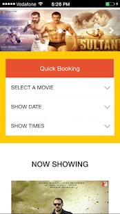 Book Cinema Tickets screenshot