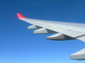 Photo: Ala del Airbus A330 de Avianca