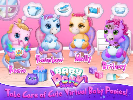Baby Pony Sisters - Virtual Pet Care & Horse Nanny 5.0.14002 screenshots 8