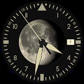 Lunar Clock Wallpaper