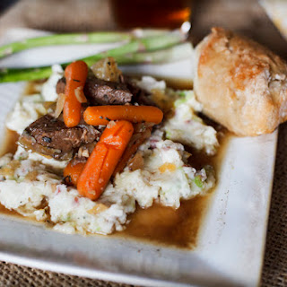 Stout Irish Stew & Colcannon