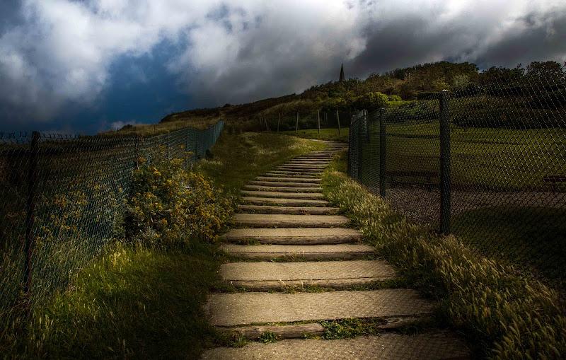 Gli scalini di Etretat di antoniod