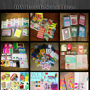 DIY Back To School Ideas - náhled
