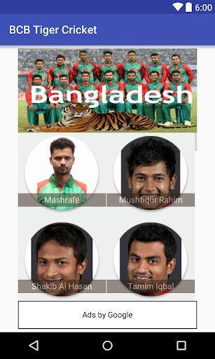 BCB Tiger Cricket