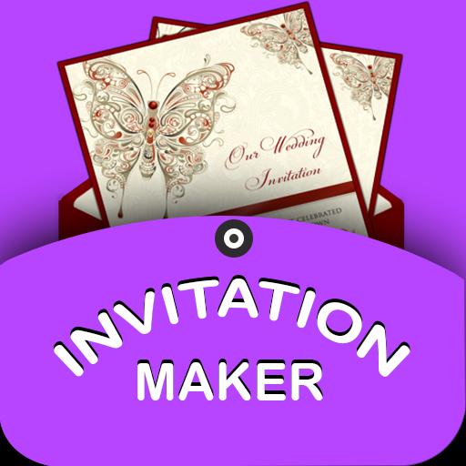 Invitation Maker(Birthday,Party,Wedding,shower)