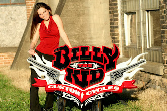 Photo: Custom Sign for Billy The Kid Custom Cycles in St Louis Missouri, You can get a carved sign price here... http://nicecarvings.com/3d-sign-quote-form