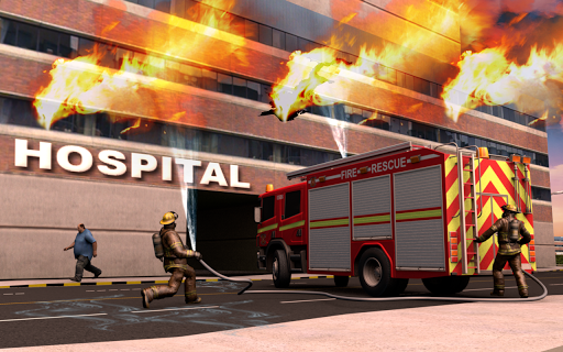 NY City FireFighter Hero: Rescue Truck Simulator 1.1 screenshots 1