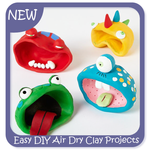 easy clay projects Projects and inspiration create virtually anything—from one of a kind jewelry designs to beautiful home accents.