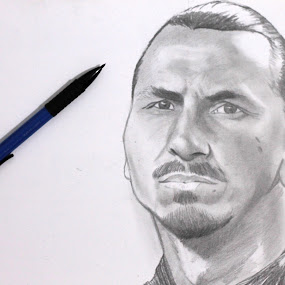 zlatan by Agus Gojali - Drawing All Drawing