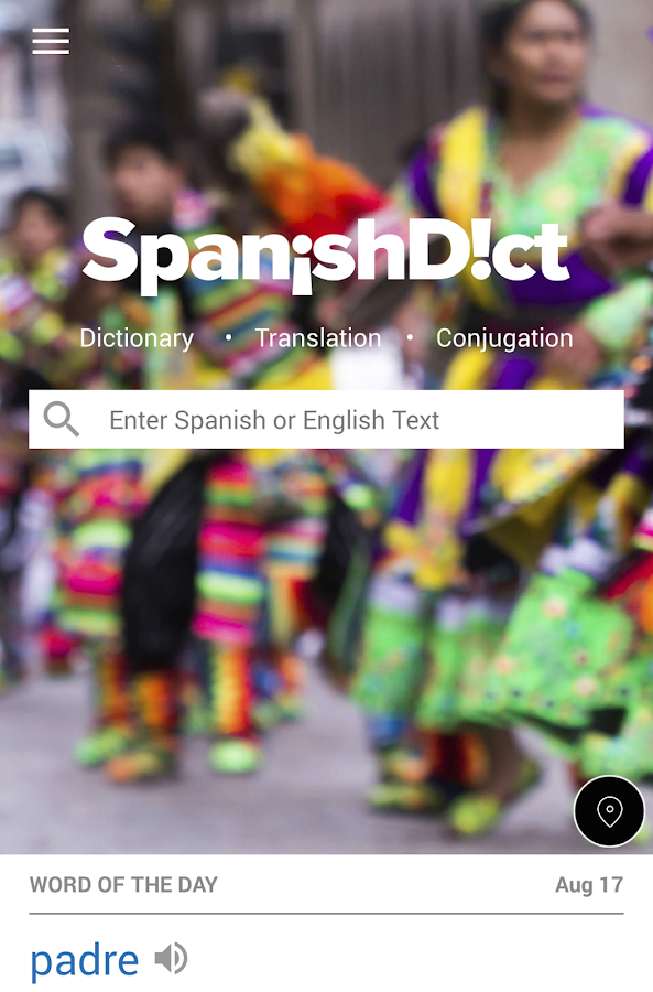 SpanishDict Translator- screenshot