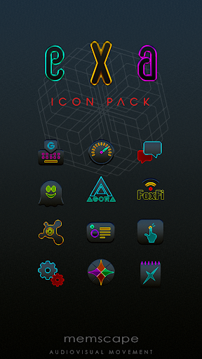 Screenshot for EXA Icon Pack in United States Play Store