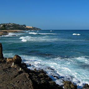Tide by Nico Ebersohn - Landscapes Beaches ( sand, seascape, rocks, water, sea,  )
