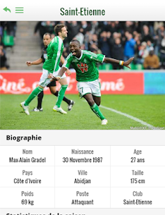Foot Saint Etienne Applications Android Sur Google Play