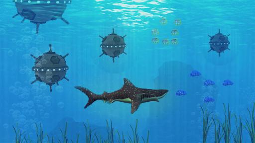 ハングリープレデターサメ
