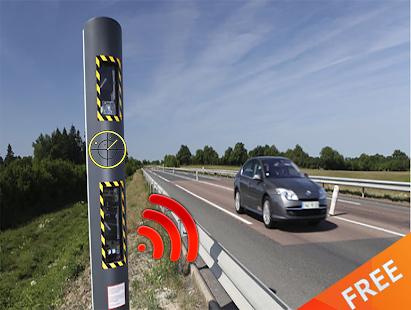 Radar mobile Detector Prank - náhled