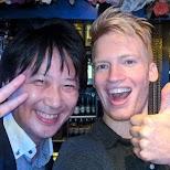 Jun and Matt at Maharaja in Tokyo in Tokyo, Tokyo, Japan