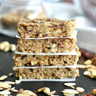 Grain Free Date Nut Bars.