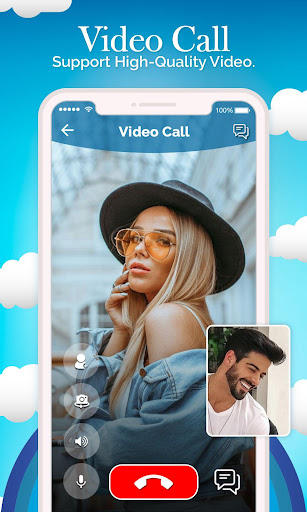 Popular Random Chat With People : Live Video Chat 1.0 screenshots 1