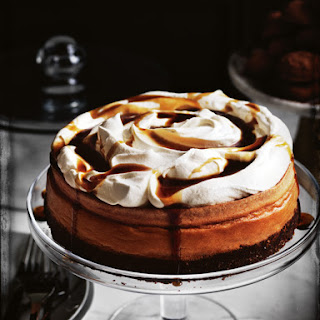 Coffee Cheesecake With Coffee Syrup.