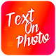 Photext - Text On Photo APK
