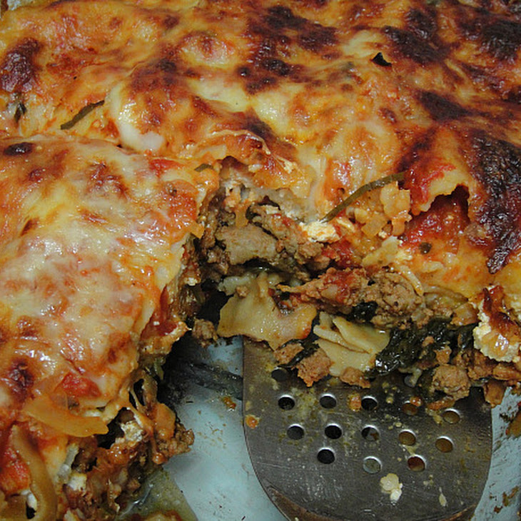 Turkey-Spinach Lasagna