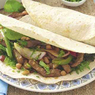 Mexican Beef and Bean Fajitas