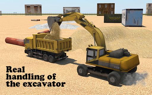 玩免費模擬APP|下載重い掘削機の3D app不用錢|硬是要APP