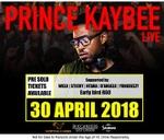 Prince Kaybee Live : Buccaneers