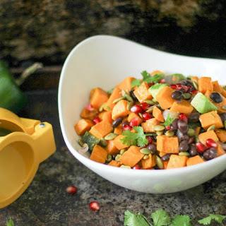 Southwest Sweet Potato Salad with Vinaigrette