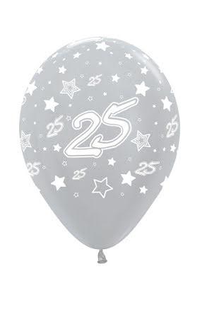 Ballonger, Silver 25 6 st