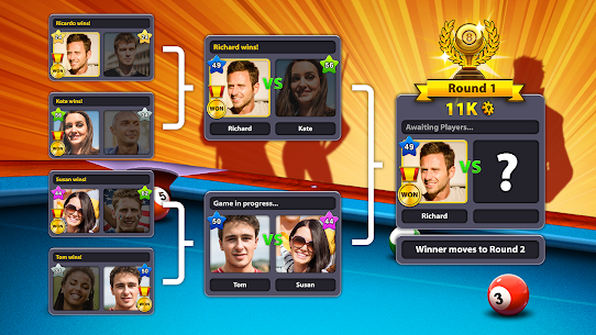 8 Ball Pool MOD APK 5.2.1 (Long Lines) 3