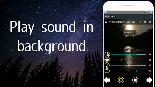 Nature Sounds of the night for comfortable sleep screenshots 3