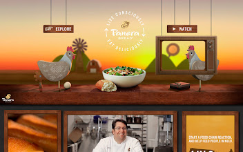 Photo: Site of the Day 8 March 2013 http://www.awwwards.com/web-design-awards/panera-live-consciously